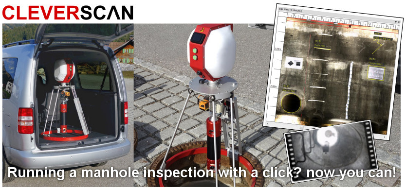 CleverScan for manhole inspections